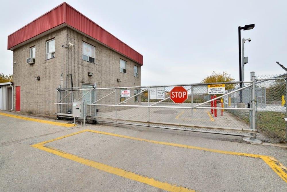 Gate at Apple Self Storage - Toronto - Danforth in Toronto, Ontario