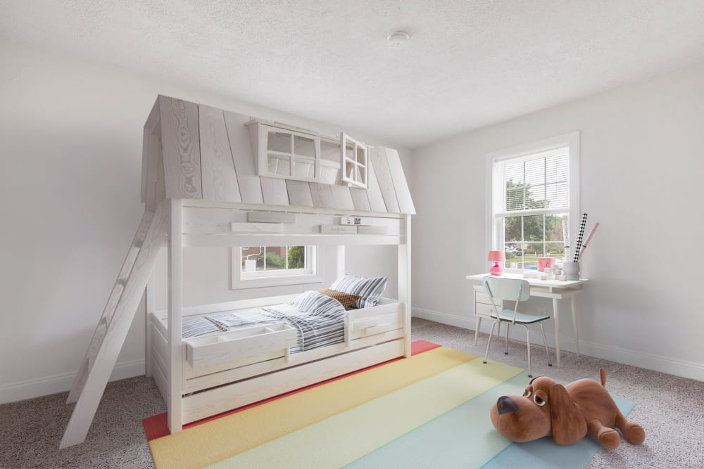 Kids bedroom at Village Square Apartments in Mount Holly, NJ