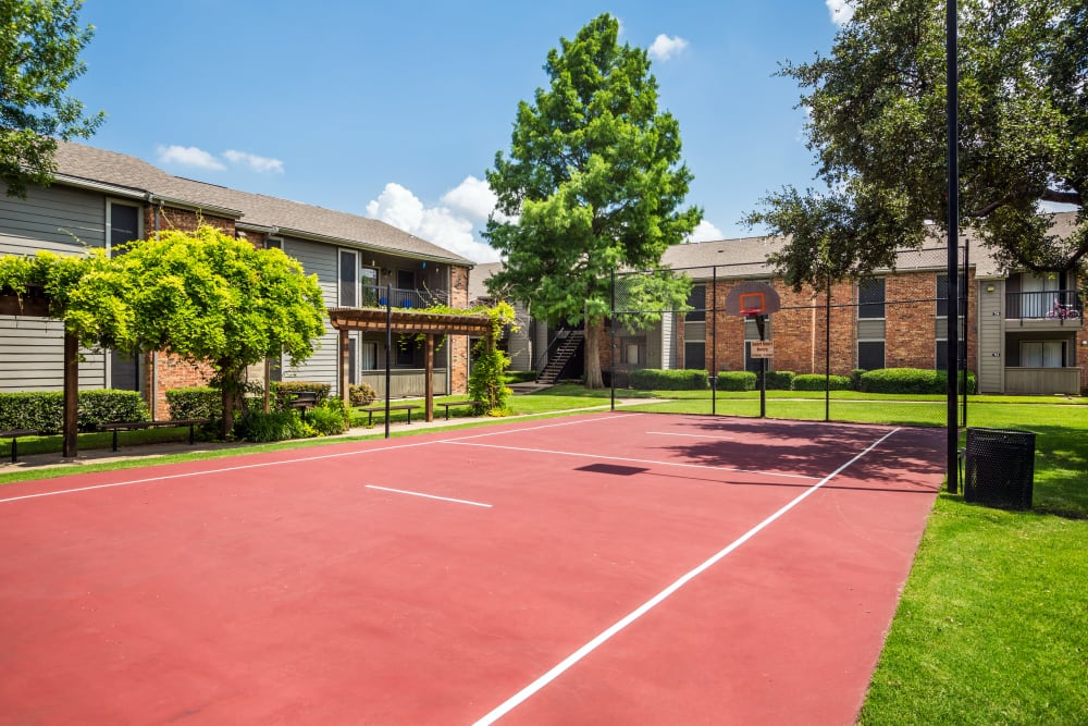 Basketball Court at Grayson Ridge in North Richland Hills, Texas