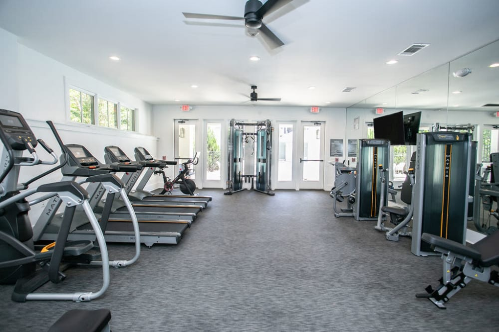 Fitness Center at The Ashford Apartment Homes in Brookhaven, Georgia