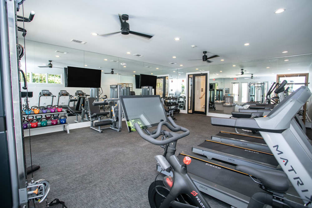 Fitness Center at The Ashford Apartment Homes