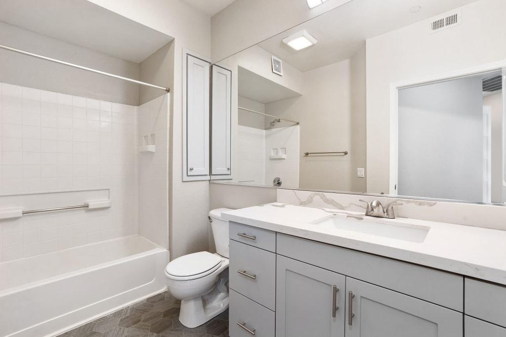 Bathroom at Park Central in Concord, California