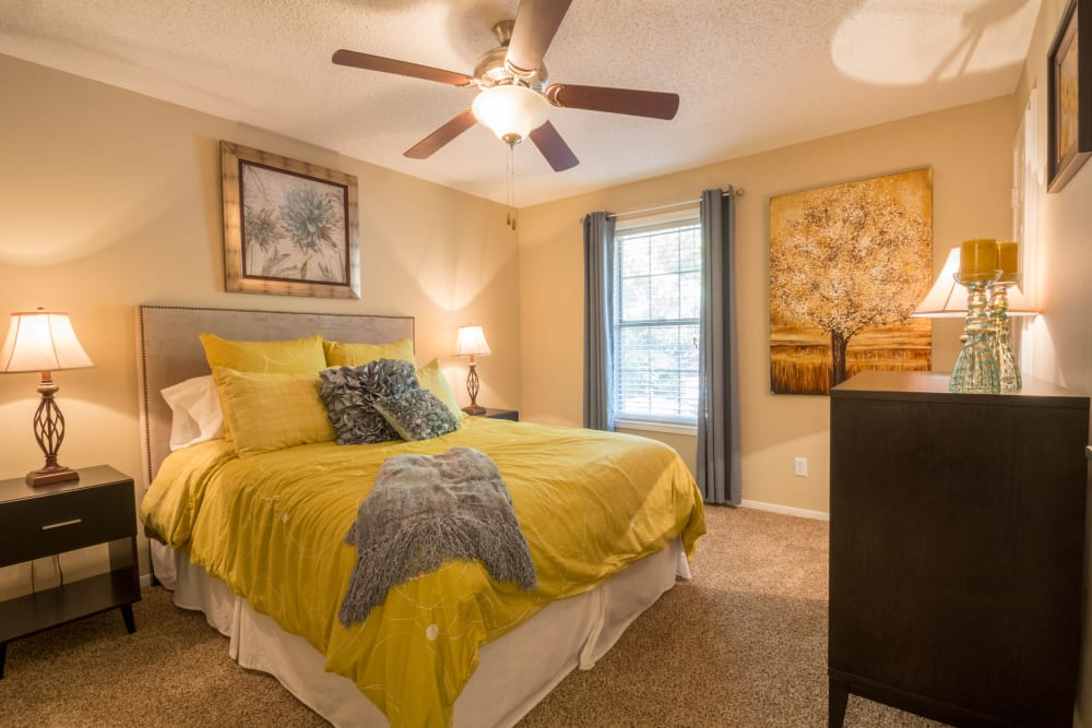 Bedroom at Summerchase at Riverchase in Hoover, Alabama