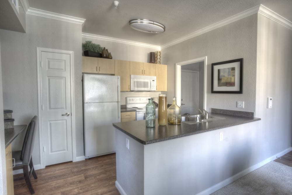 The Tides Apartments in Richmond, California classic kitchen