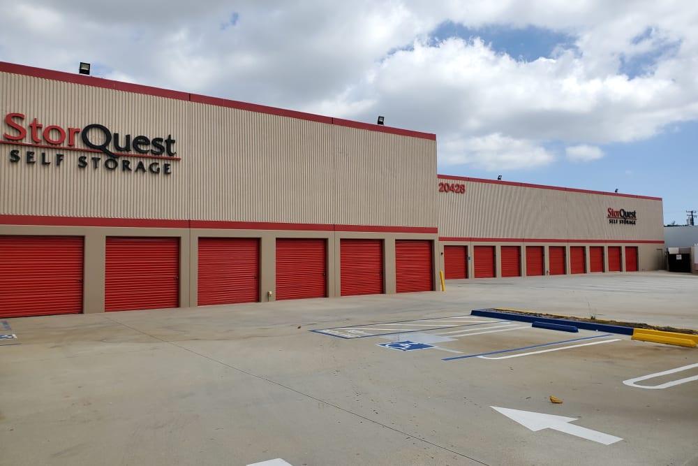 Exterior units at StorQuest Self Storage in Torrance, CA