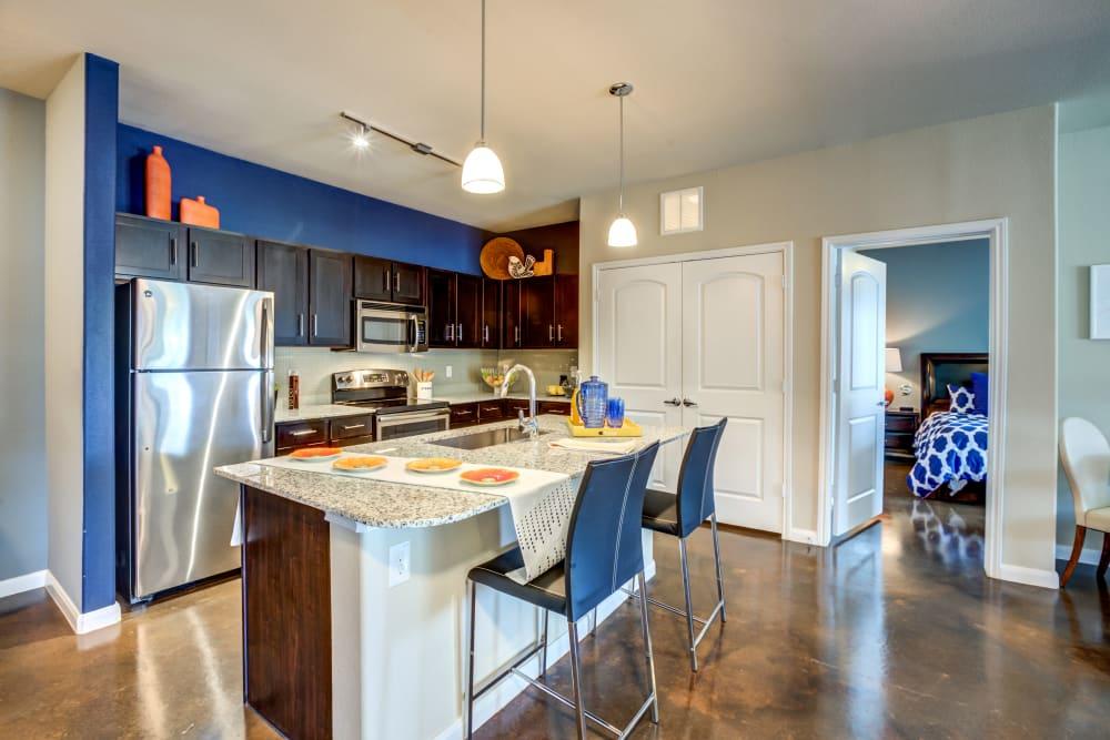 Kitchen at Legacy Brooks in San Antonio, Texas