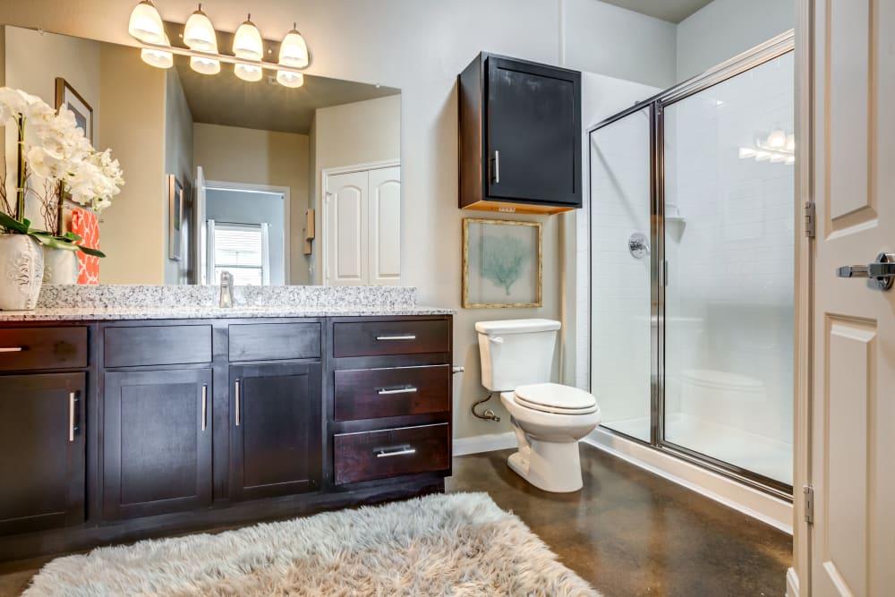 Bathroom at Legacy Brooks in San Antonio, Texas