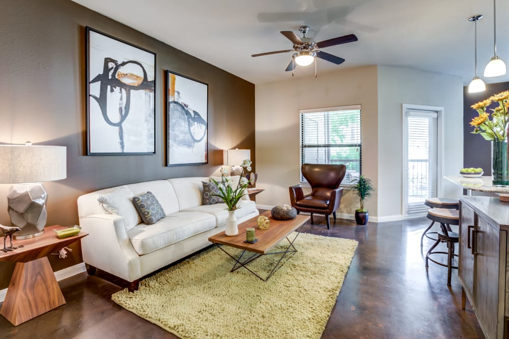 Legacy Brooks offers a Living Room in San Antonio, Texas