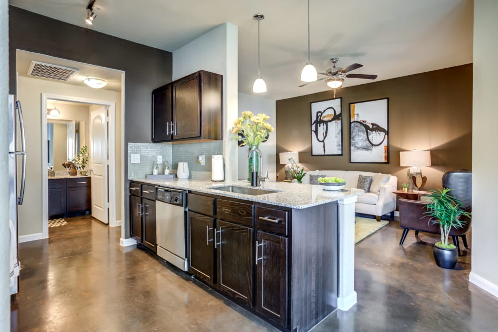 Our Apartments in San Antonio, Texas offer a Kitchen