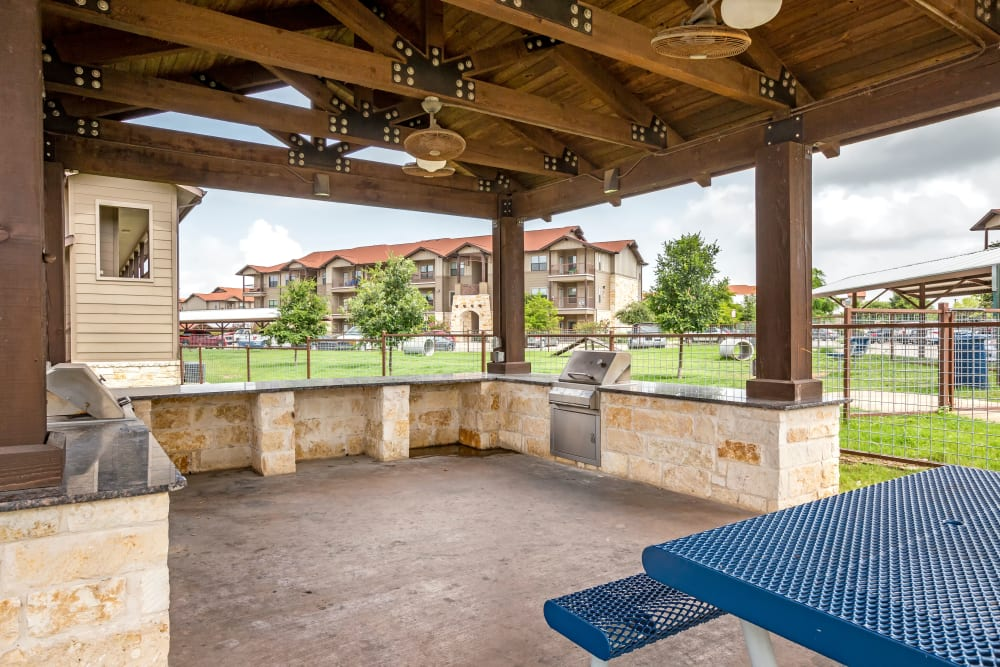 BBQ Area at Legacy Brooks in San Antonio, Texas