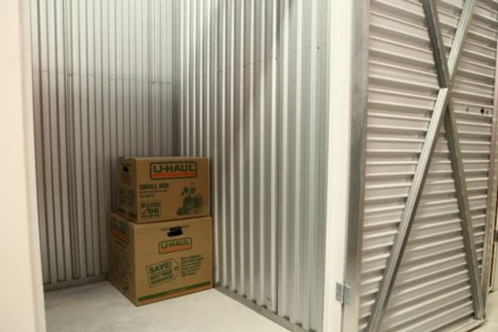 Boxes and units for self storage at Clutter Self-Storage in White Plains, New York