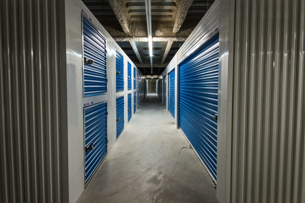 Climate controlled units at Clutter Self-Storage in White Plains, New York