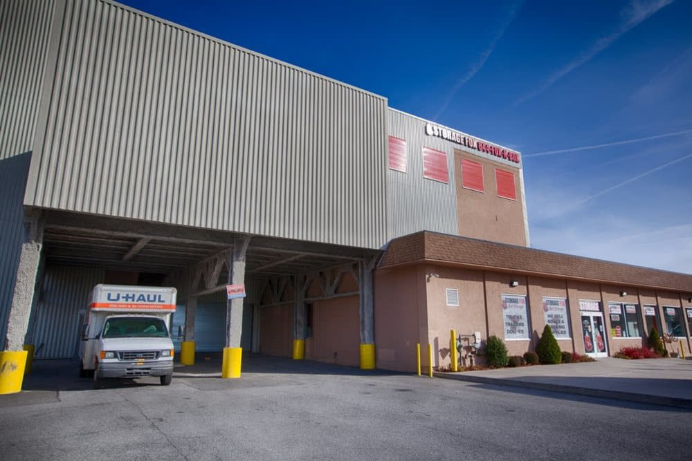 Exterior view at Clutter Self-Storage in Yonkers, New York