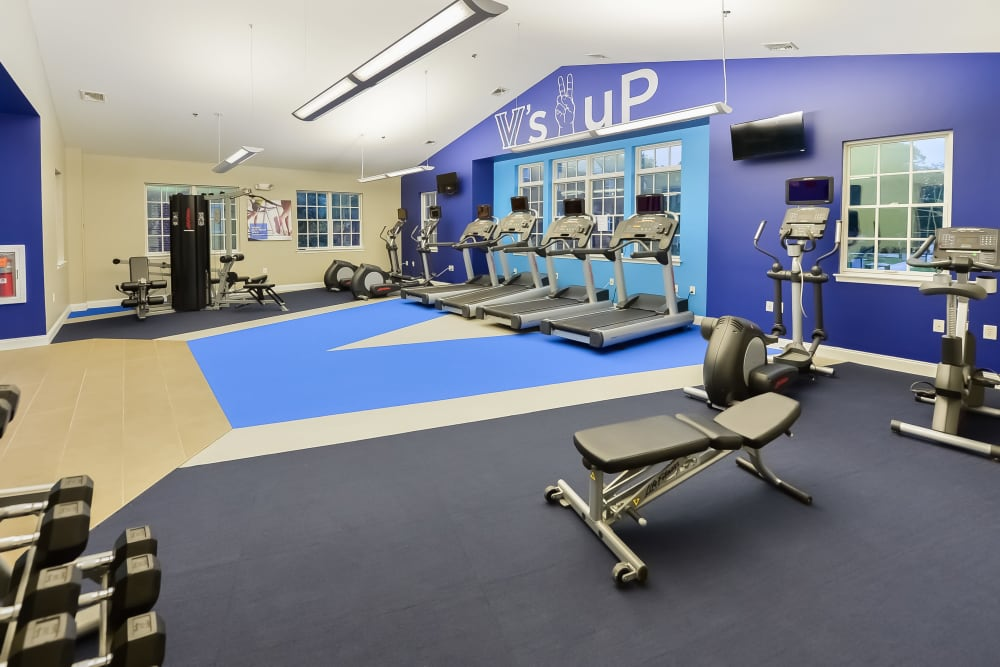 Fitness Center at The Villas at Bryn Mawr Apartment Homes in Bryn Mawr, Pennsylvania