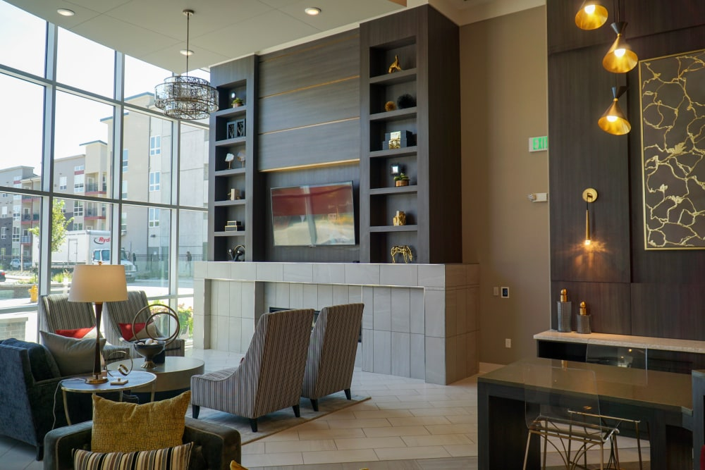 Our Apartments in Denver, Colorado offer a Lobby with seating