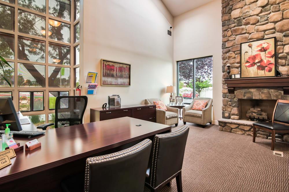 Leasing Office at Cherry Creek Apartments in Riverdale, Utah