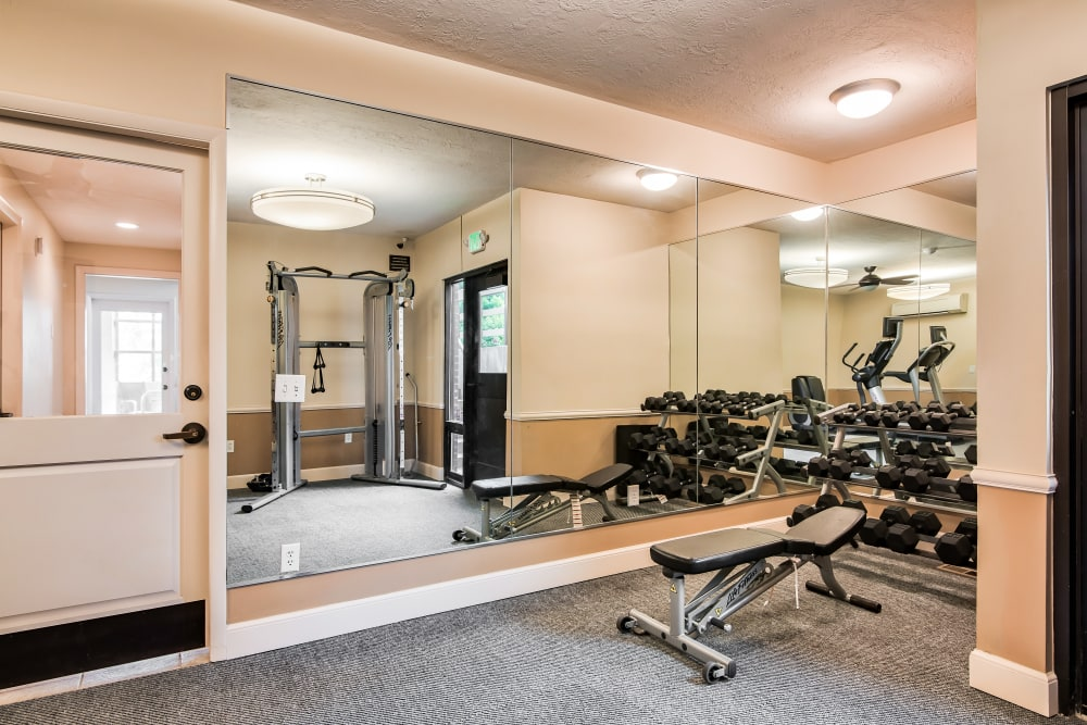 Our Apartments in Riverdale, Utah offer a Fitness Center