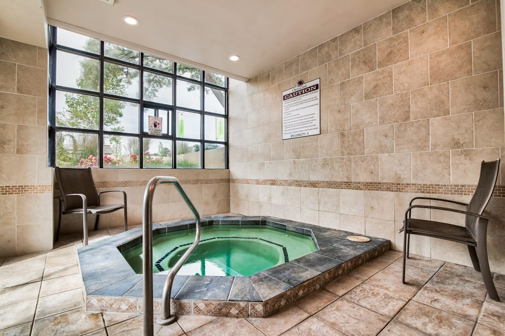 Enjoy Apartments with a Hot Tub at Cherry Creek Apartments