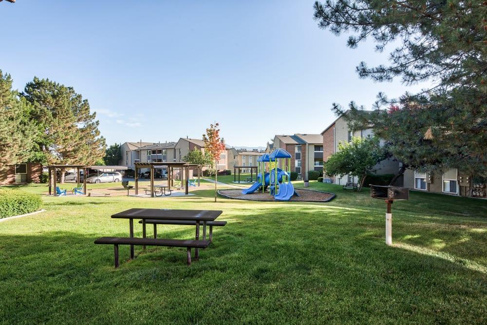 Playground at Cherry Creek Apartments in Riverdale, Utah
