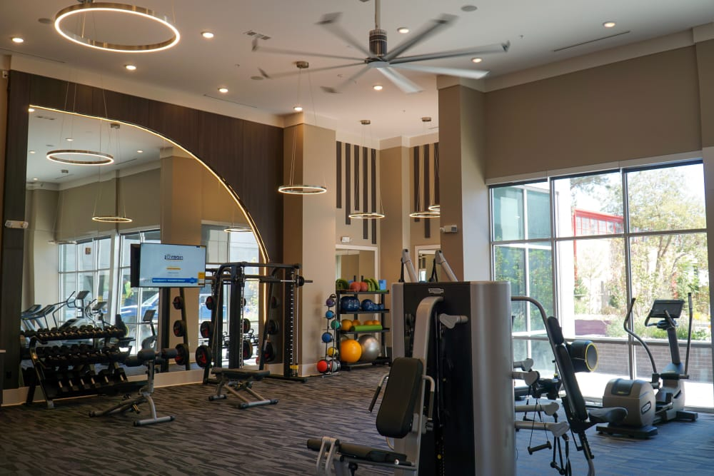 Our Apartments in Denver, Colorado offer a Fitness Center