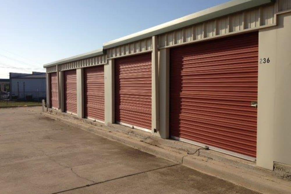 A storage unit at Store It All Self Storage - Westlake in Austin, Texas