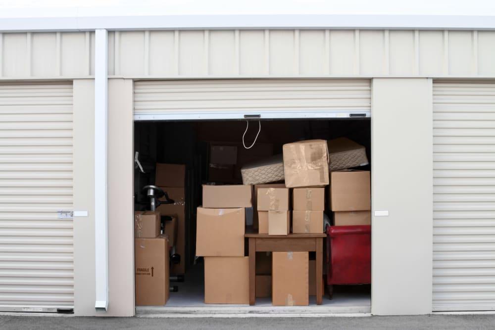 Ground-floor units at Towne Storage in West Valley, Utah