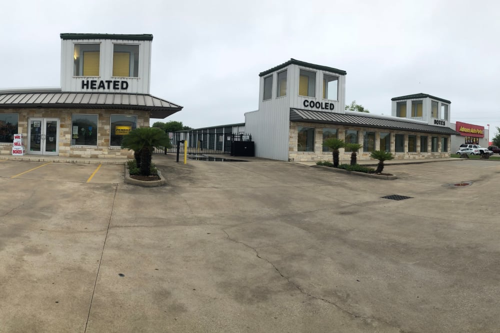 The front of the building at Store It All Self Storage - FM 529 in Houston, Texas