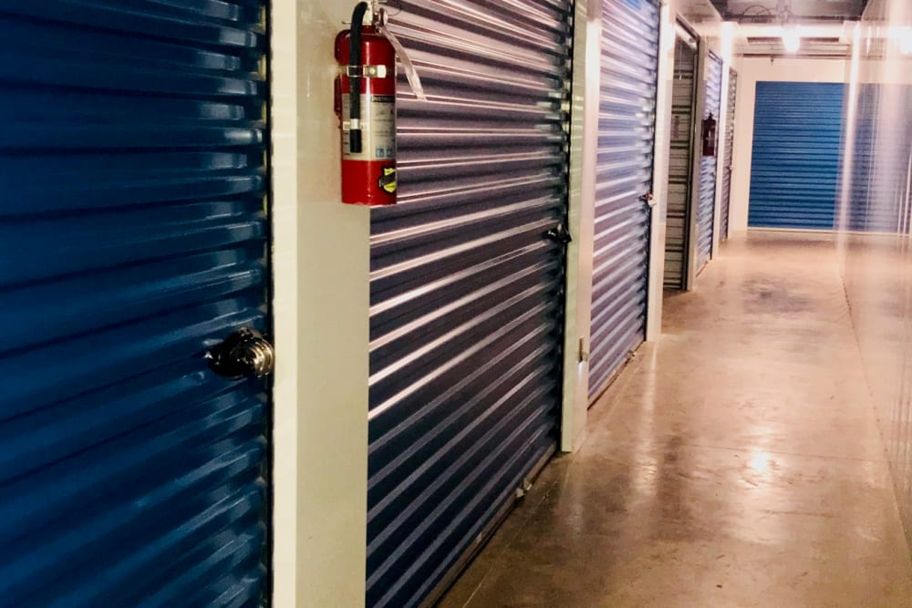 Indoor storage units at Store It All Self Storage in Barnegat, New Jersey