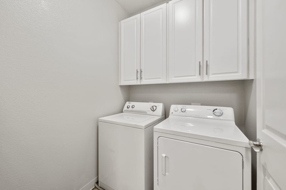 Washer and Dryer at Apartments in San Jose, California
