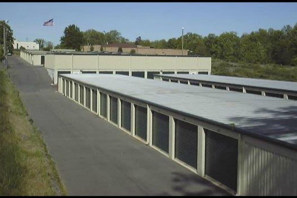 Outdoor units at AAA Self Storage at Bermuda Run in Advance, North Carolina.