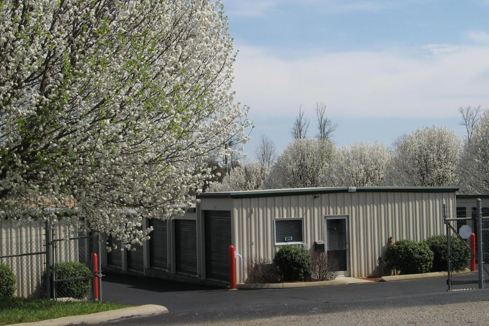 AAA Self Storage at Bermuda Run is a fully fenced facility in Advance, North Carolina.