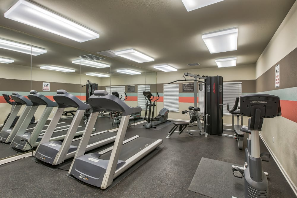 Our Apartments in Brighton, Colorado offer a Gym