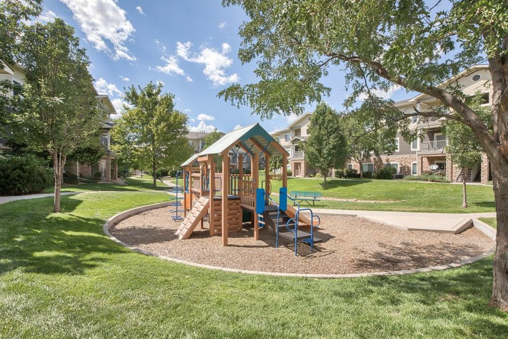 Playground at Platte View Landing in Brighton, Colorado