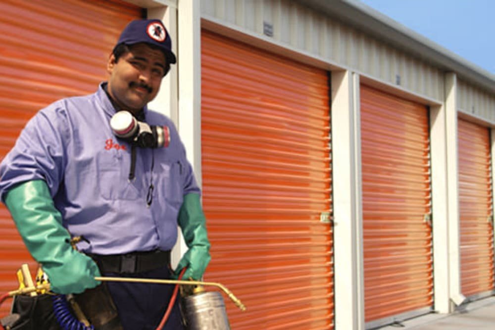 pest control at A-1 Self Storage in Cypress, CA