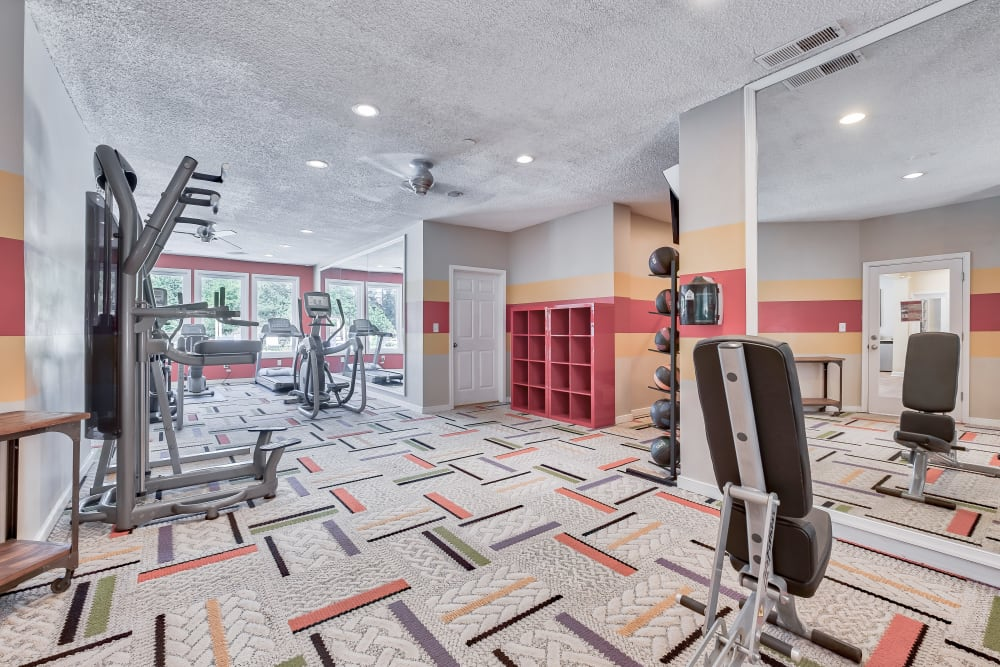 Fitness Center at Copper Mill Apartments
