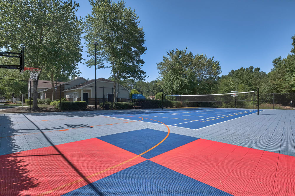 Our Apartments in Richmond, Virginia have an Outdoor Basketball Court