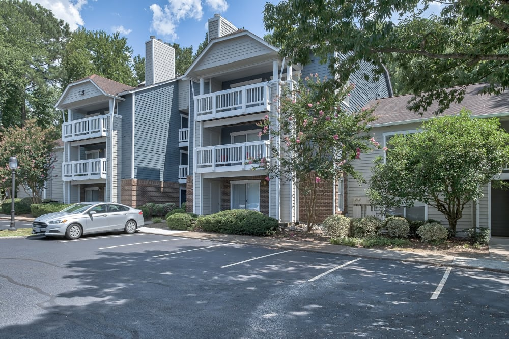 Exterior of Copper Mill Apartments in Richmond, Virginia