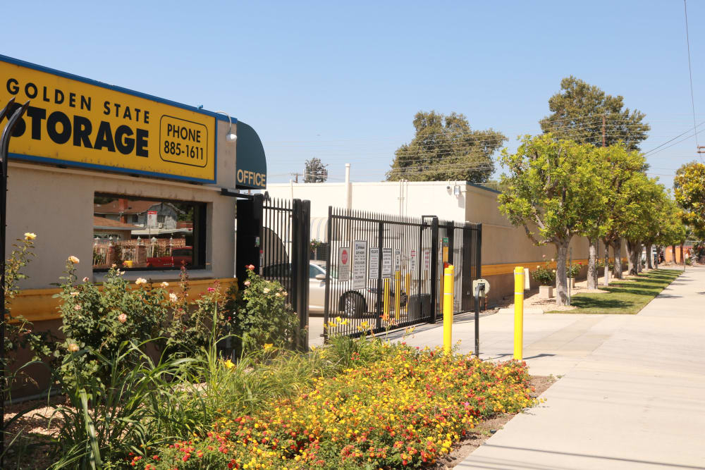 Security features of our storage facility in Northridge