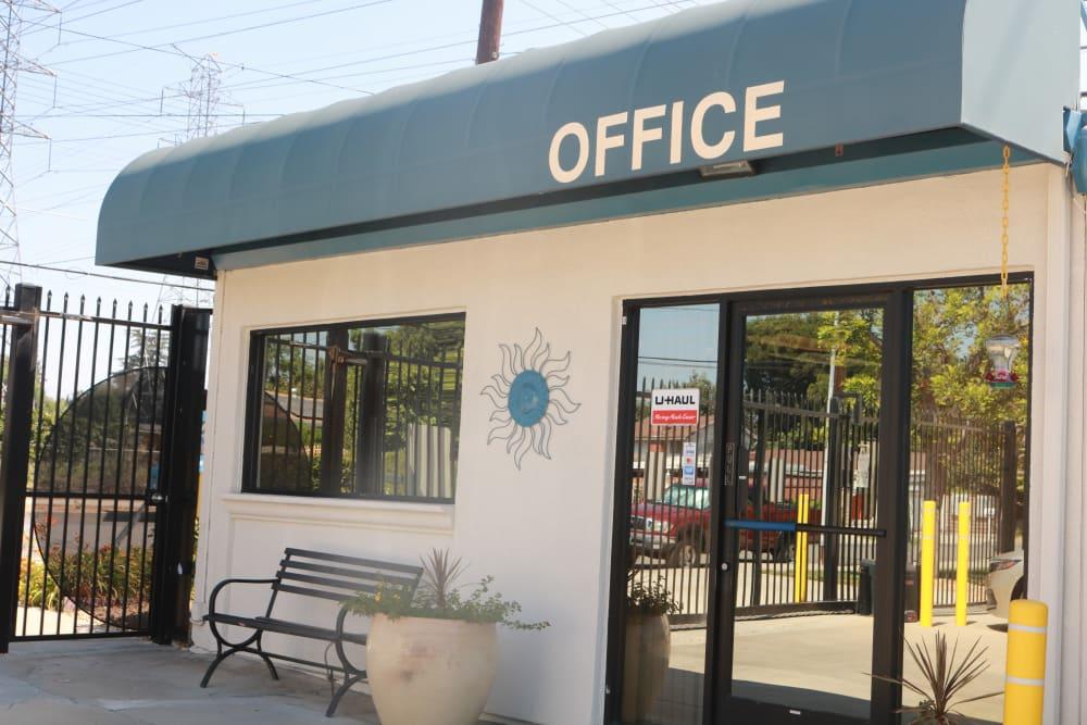 Front office at Golden State Storage - Northridge