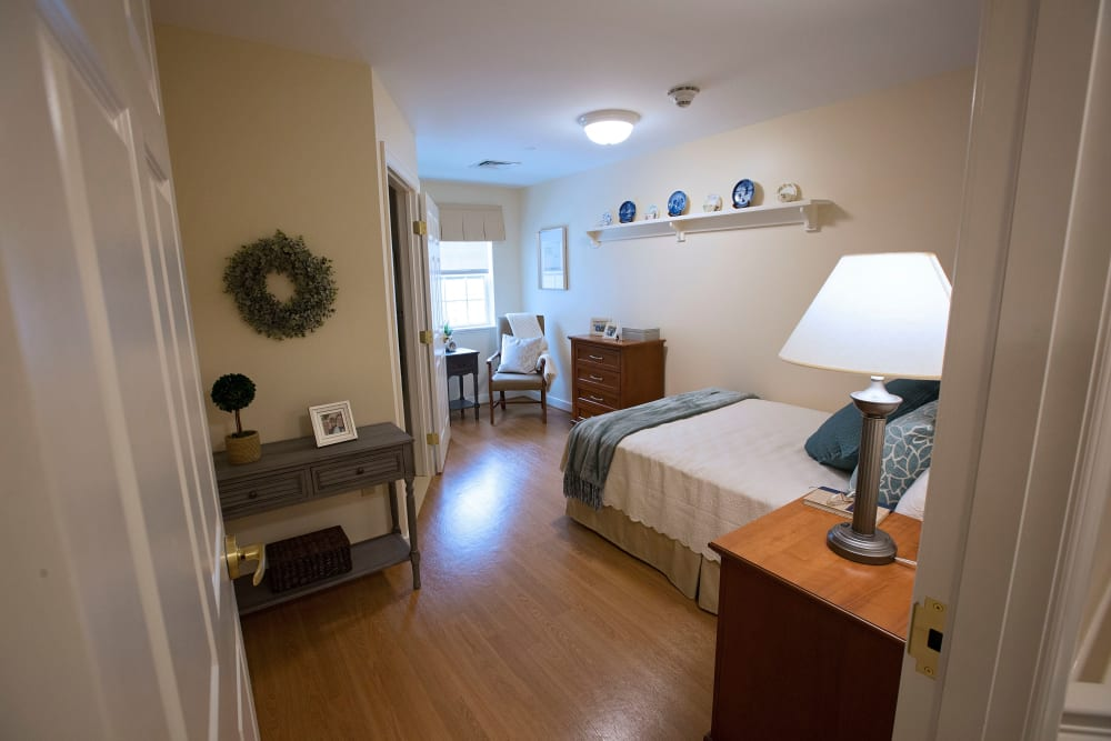 Bedroom at Artis Senior Living of Eatontown in Eatontown, New Jersey