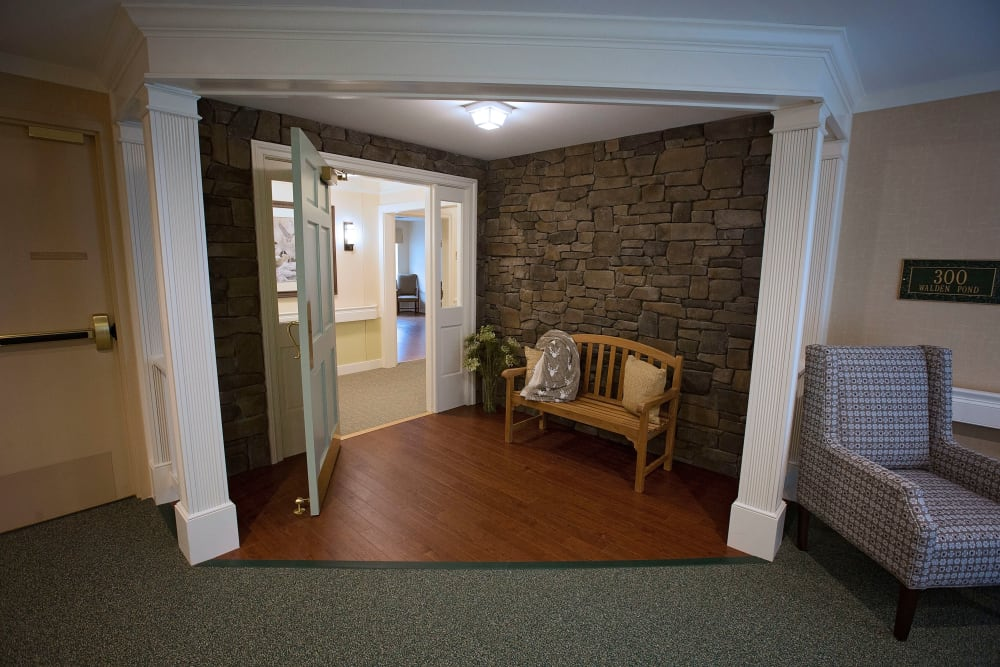 Community area at Artis Senior Living of Eatontown in Eatontown, New Jersey