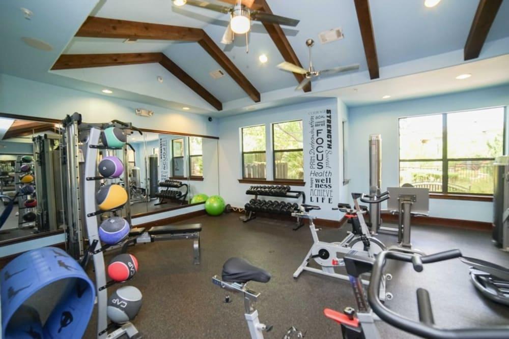 Enjoy Apartments with a Gym at The Bridge at Tech Ridge in Austin, Texas