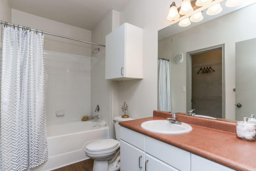 Bathroom at The Bridge at Tech Ridge in Austin, Texas
