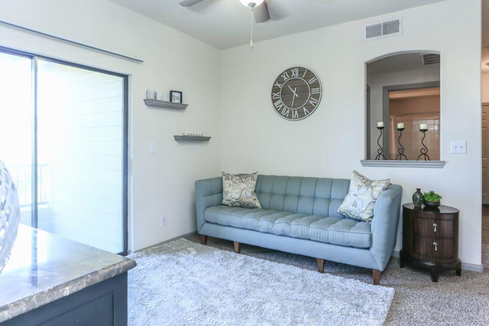 Living Room at The Bridge at Tech Ridge in Austin, Texas