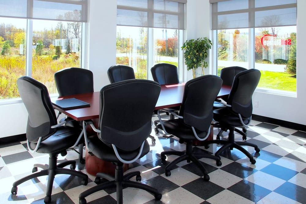 Meeting area at Apple Self Storage - Collingwood in Collingwood, Ontario
