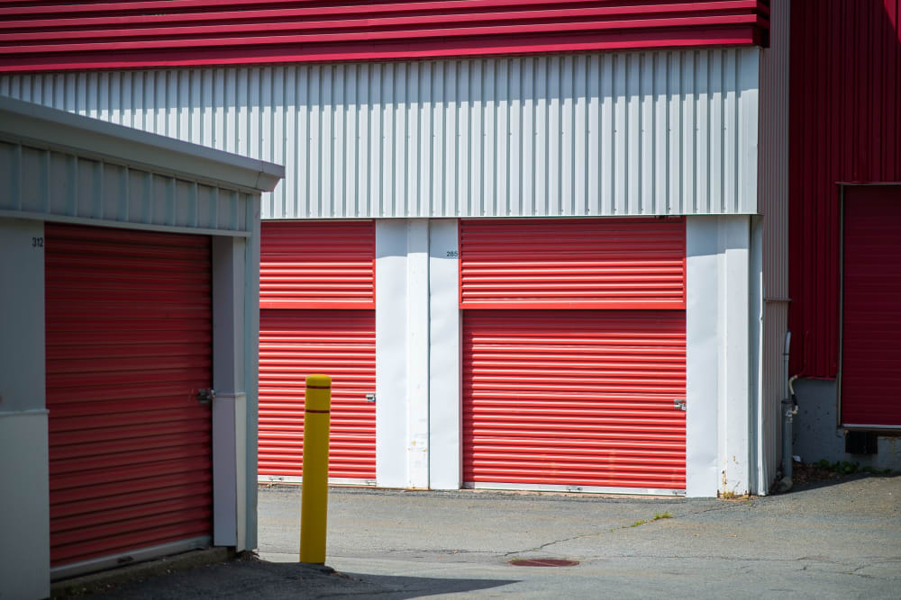 Conveniently wide driveways at Apple Self Storage - Dartmouth in Dartmouth, Nova Scotia