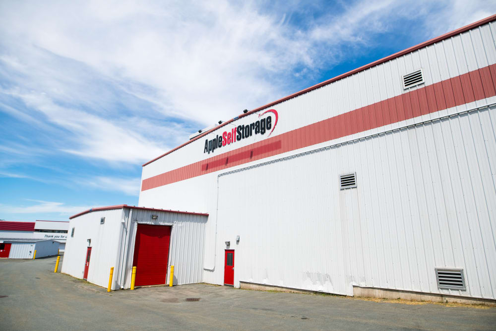 Apple Self Storage - Dartmouth in Dartmouth, Nova Scotia, is a large facility that can meet all your storage needs