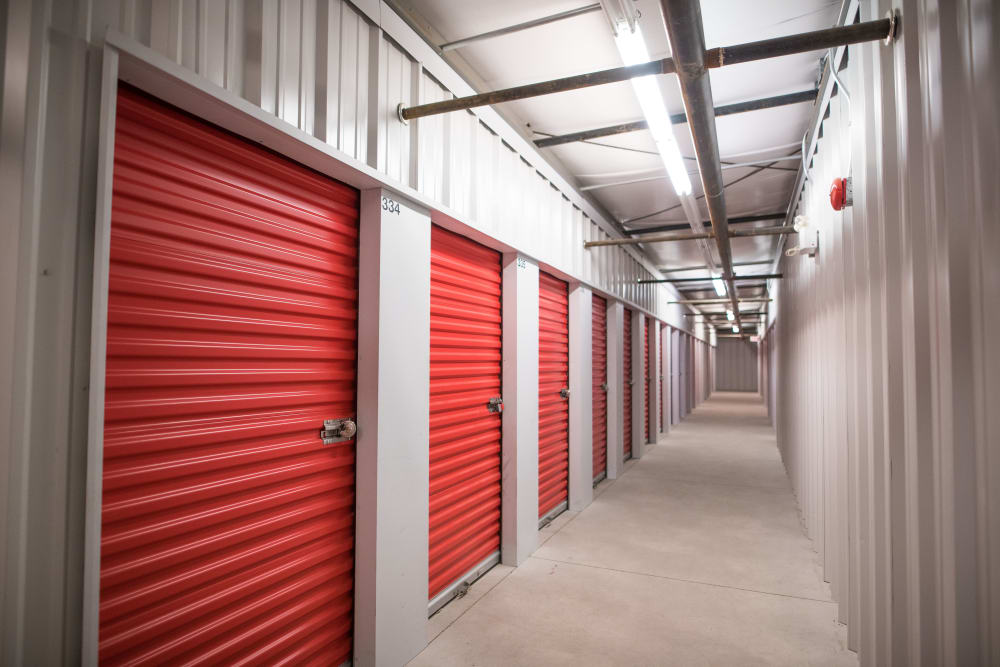 Bright and clean interior units at Apple Self Storage - Dartmouth in Dartmouth, Nova Scotia