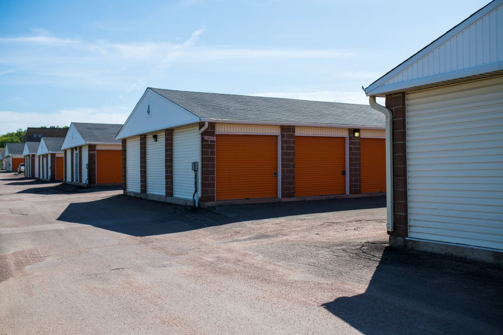 Ample driveways at Apple Self Storage - Dieppe in Dieppe, New Brunswick