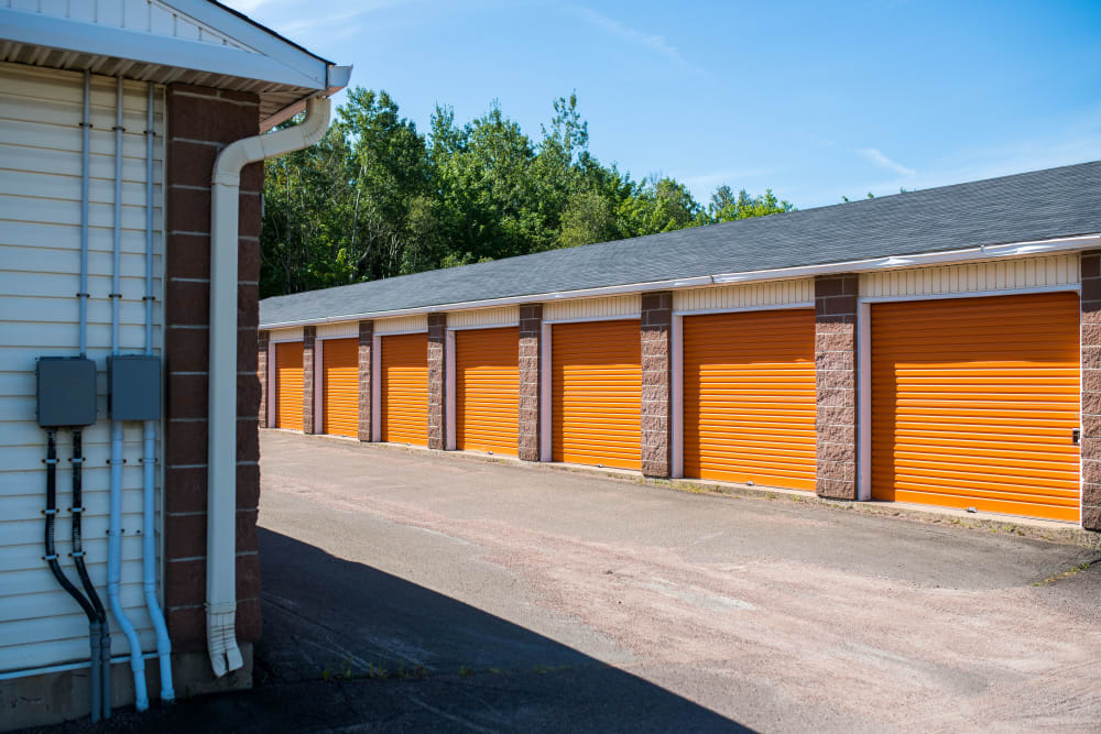 Large driveways for your convenience at Apple Self Storage - Dieppe in Dieppe, New Brunswick